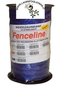 FENCELINE - Banda BLU 13mm 5x0,25 200mt