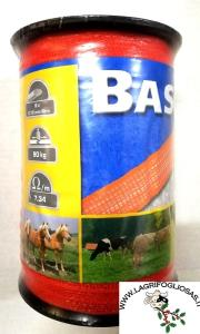 Banda BASIC 20mm x 200mt  6x0,16Acciaio -  Arancio