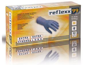 GUANTI in nitrile tg.L REFLEXX99 senza polvere