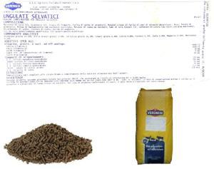 VERONESI - UNGULATI SELVATICI PELLET KG 25 veronesi OGM