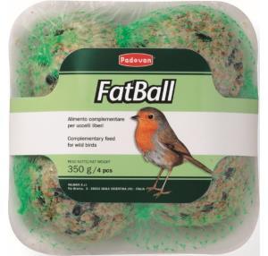 Fat Ball per uccelli liberi 6PZ - palle di grasso