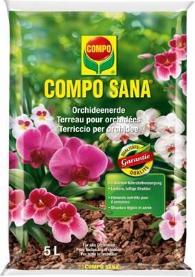 COMPO SANA Orchidee 5L Terriccio