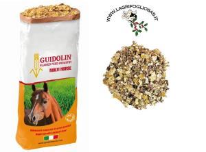 GIANNI GUIDOLIN - MULTI HORSES kg15 - FIOCCHI misti per CAVALLI