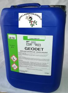 DETERSIVO kg12 per IMPIANTI mungitura GEODET
