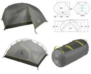 CAMP - TENDA Minima 3 Pro ALPINISMO, TREKKING