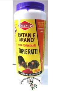 SEPRAN - RATAN E GRANO kg.1,5 Barattolo Topicida
