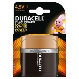 DURACELL - BATTERIA PIATTA 4,5V PLUS POWER