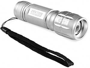 TORCIA TACTICAL 160 Lumen Alluminio con batterie (3xAAA)