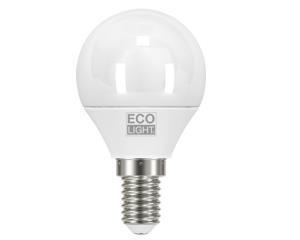 LAMPADA LED MINI GLOBO 6W = 40W E14