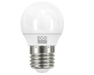 LAMPADA LED MINI GLOBO 6W = 40W E27