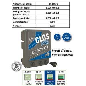 LACME CLOS 2005 - 230v 7J - ELETTRIFICATORE