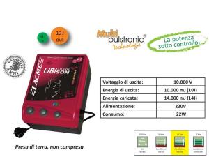 LACME UBIson 10000 230v 14J - Elettrificatore Potente