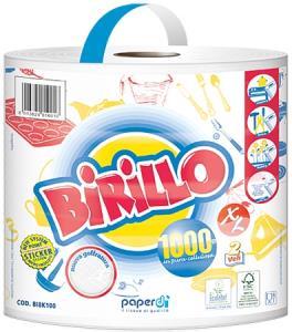 BOBINA OVATTA BIRILLO KG.1 USO Alimentare 430 strappi da cm 23x25