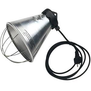 Porta lampade alluminio, cavo 2,5mt