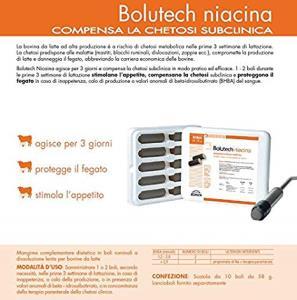 Bolutech Niacina 10x58gr - Compensa la Chetosi