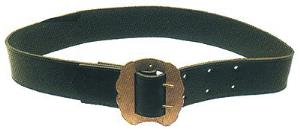 CINTURONI in cuoio CON FIBBIA - mm100-115cm