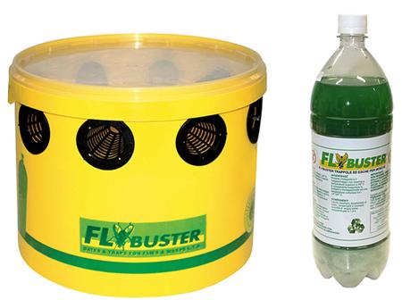 Trappola FlyBuster x MOSCHE Secchio + esca liquida