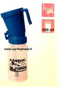 Bicchierino schiumogeno pre-dipping blu Ambic Premium FoamExpert