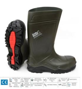 pollyboot - PollyBoot Power S5, Verde 20345. Stivale S5