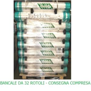 NOVATEX - RETE Westfalia 32rotoli DA mt2000x123cm - Rotopresse SPEDIZIONE COMPRESA - ITALIA