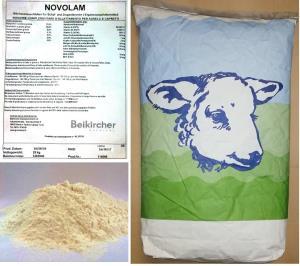 BEIKIRCHER - Milchmehl Laemmermilch NUVOLAM 25kg - LATTE CAPRETTI