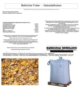 BEIKIRCHER - Getreideflocken lose - big bag - MAIS FRUMENTO ORZO