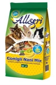 ALLEGRI - CONIGLI NANI MIX 2kg - ALLEGRI