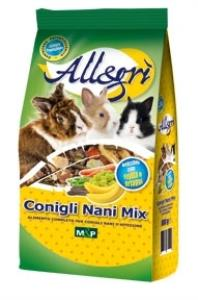 ALLEGRI - CONIGLI NANI MIX 800Gr - ALLEGRI'