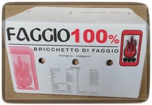 BRICCHETTO LATIFOGLIA 100% 20kg - TRONCHETTI Scatola