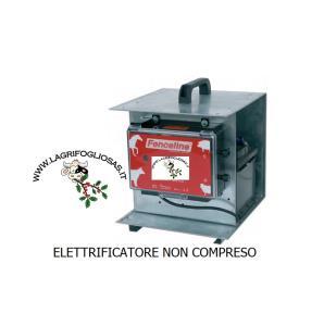FENCELINE - CONTENITORE zincato DA TRASPORTO per ELETTRIFICATORI A 12V