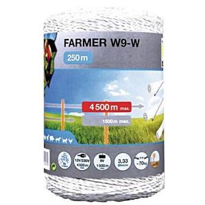 Filo Farmer 9x0,18 bianco 250mt