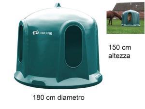 PORTABALLONI FIENO JFC A CAMPANA HB01 cavalli/bovini 1500X1800