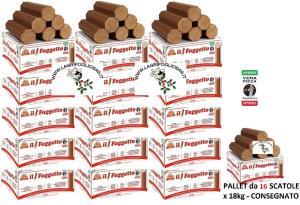 FAGGETTO OSOLEMIO KG 18 -Tronchetto per Pizza -Bancale da 16 scatole - Consegna INCLUSA in tutta ITALIA - isol