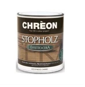 CHREON - STOPHOLZ CERA INCOLORE x 0,75lt -  VERNICE TRASPARENTE