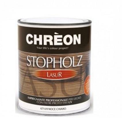 CHREON - STOPHOLZLASUR INCOLORE x 0,75lt