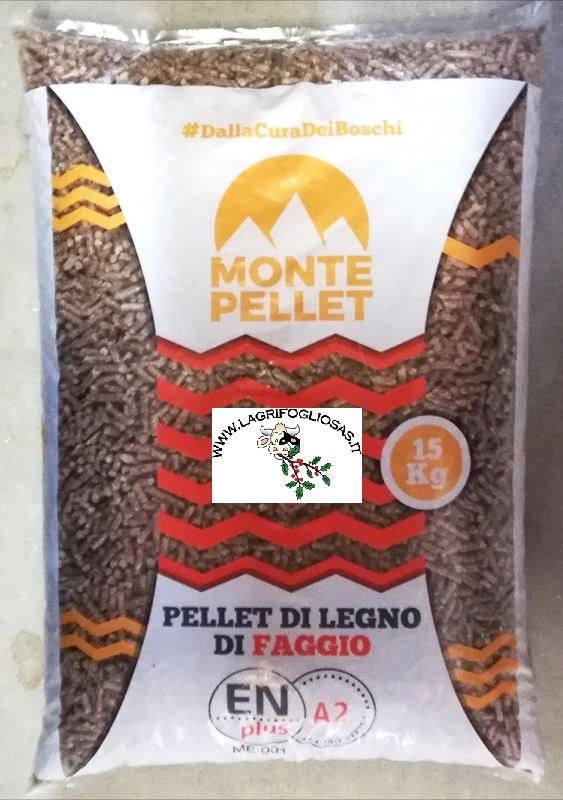 Pellet MontePellet ENplus A2 FAGGIO