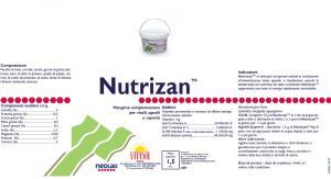 VITASOL - NUTRIZAN KG.1,5 - ANTIDIARROICO NATURALE VITELLI/AGNELLI/CAPRETTI - Vitasol