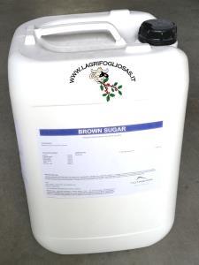 BROWN SUGAR 25Kg - Glicole Mangime complementare per Vacche da Latte