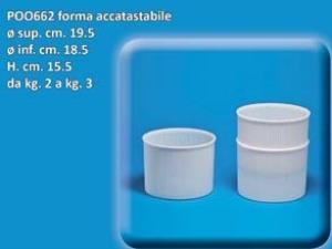 Forma per Formaggio D19x15,5
