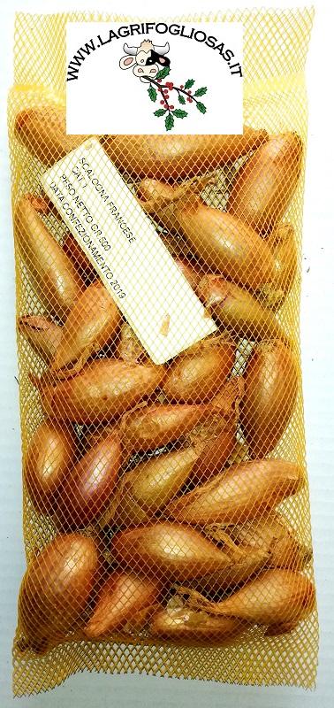 CIPOLLA SCALOGNA francese gr.500