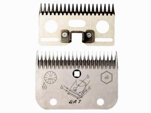 lister - Set Coltello+Pettine per Tosatrice LC A7 BOVINI 19/21- LISCOP