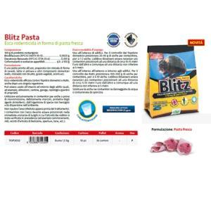 Bocconi Blitz Pasta Topicida 1,5kg - Brodifacoum 0,005